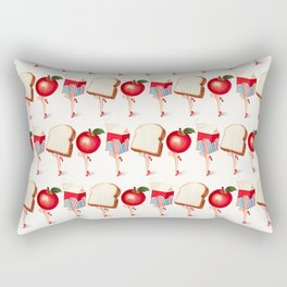 Lunch Ladies Pin-Ups Rectangular Pillow