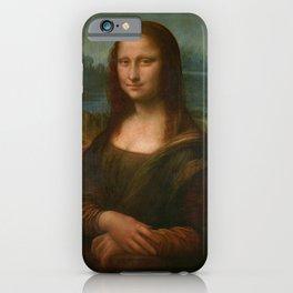 Mona Lisa Classic Leonardo Da Vinci Painting iPhone Case