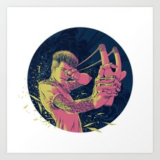 The Good Die Young Art Print