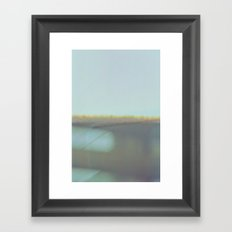 false horizon Framed Art Print