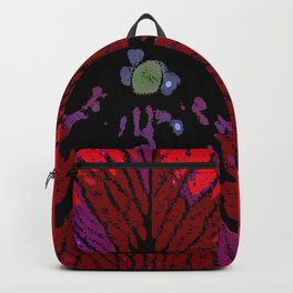 Red Petunia Backpack