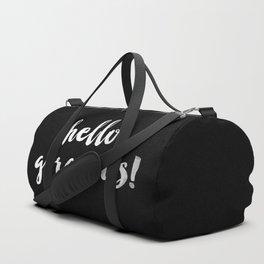 Hello Gorgeous! Duffle Bag