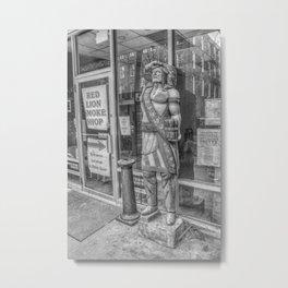 Cigar Store Indian Metal Print