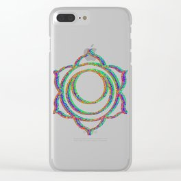 sacral chakra Clear iPhone Case