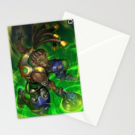 over lucio watch Stationery Cards