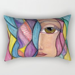 Hair Dayz - Regal Rectangular Pillow