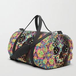 Fancy Skull Duffle Bag