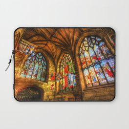 Evening Sun Cathedral Laptop Sleeve