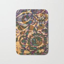 Art Noveau Textured pattern Bath Mat