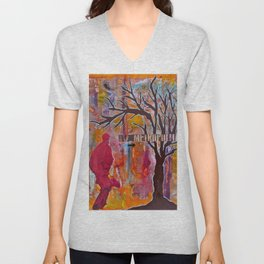 Finding My Way (The Path to Self Discovery/Actualization) Unisex V-Neck