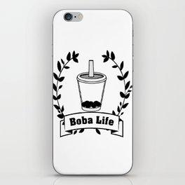 Boba Life iPhone Skin