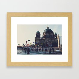 Berlin Points Framed Art Print