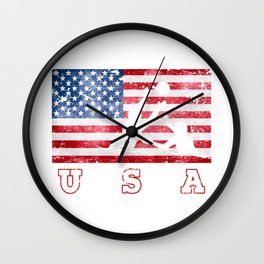 Team USA Water Polo on Olympic Games Wall Clock