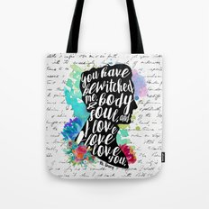 Mr.Darcy - I Love You Tote Bag