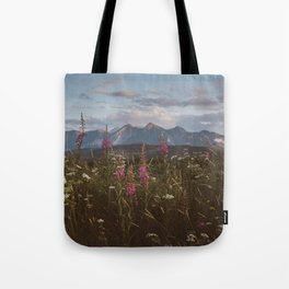 Mountain vibes - Landscape and Nature Photography Tote Bag