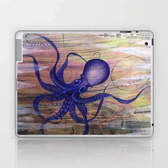 Toxic Laptop & iPad Skin