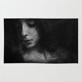 dark lady Rug