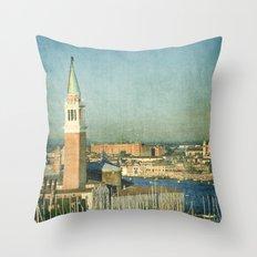 La Torre - Venice Throw Pillow