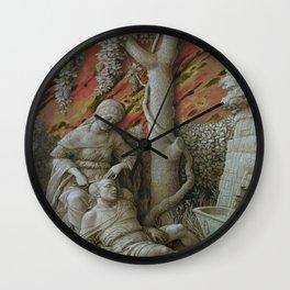 Andrea Mantegna - Samson and Dalila Wall Clock