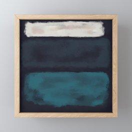 Rothko Inspired #17 Framed Mini Art Print