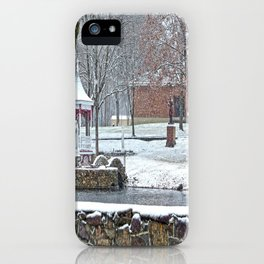 Duck Pond at Ste. Marie Du Lac iPhone Case
