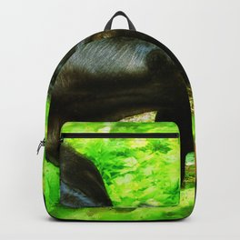 Two Forest Friends - Black Cattle Backpack