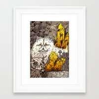witchcraft Framed Art Prints featuring Witchcraft by Angela Rizza