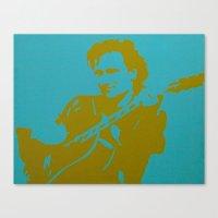 u2 Canvas Prints featuring Bono - U2 by Tipsy Monkey