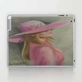 Lady in the hat Laptop & iPad Skin