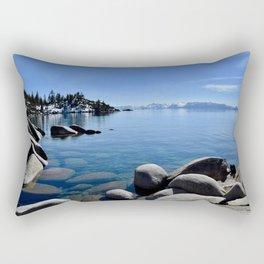Sand Harbor, Lake Tahoe Rectangular Pillow