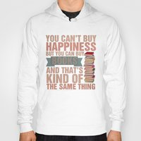 books Hoodies featuring Books by thespngames