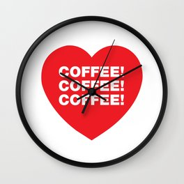 COFFEE! Wall Clock