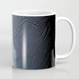 Saturn's moon Enceladus Side View Photograph Coffee Mug