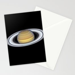 Portrait of Saturn Stationery Cards