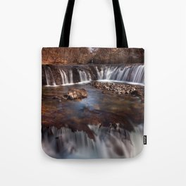 Sgwd y Bedol, South Wales Tote Bag