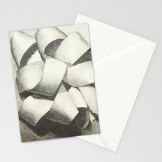 Ribbon - Graphite Illustration Stationery Cards
