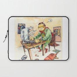 Hero and his Superdog Laptop Sleeve