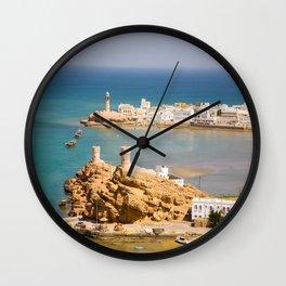 Sur Corniche Oman Wall Clock