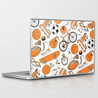 sports Laptop & iPad Skins featuring SPORTS by Shoreside