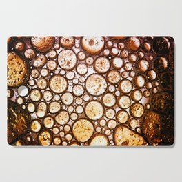 Oil on Water Bubble Abstract III Cutting Board
