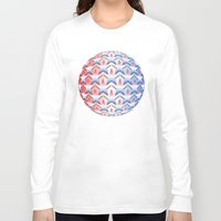 america Long Sleeve T-shirts featuring America by Lyle Hatch
