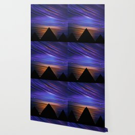 ESCAPE - Pyramids Silhouette Wallpaper