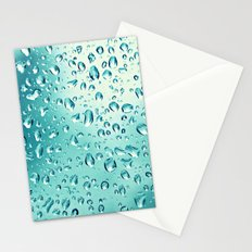 I wish it would rain down Stationery Cards