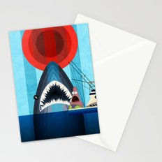 Gonna need a bigger boat Stationery Cards
