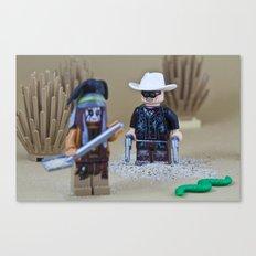 Dirty Ranger Canvas Print