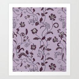 gentle weeds Art Print