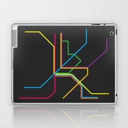 kuala lumpur metro map Laptop & iPad Skin