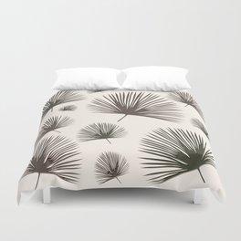 Softer Seasons (sand fan palm) Duvet Cover