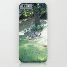 new york city, central park bikes iPhone 6s Slim Case