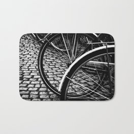 Squares And Circles Bath Mat